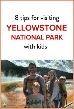 Tips for Visiting Yellowstone National Park with Kids Is Yellowstone National Park on your bucket list as a family? Check out these 8 insider tips! Is Yellowstone National Park on your bucket list as a family? Check out these 8 insider tips! Visit Yellowstone, Yellowstone Camping, Yellowstone Vacation, Wyoming Vacation, Us National Parks, Grand Teton National Park, Yellowstone National Park, Family Road Trips, Family Travel