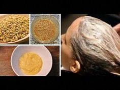 Fenugreek / Methi Hair Mask For Long, Healthy & Shiny Hair Face Shape Hairstyles, Bun Hairstyles For Long Hair, Long Hair With Bangs, Braids For Long Hair, Bleach Damaged Hair, Hair Mask For Damaged Hair, Diy Hair Mask, Fenugreek For Hair, Long Shag Haircut