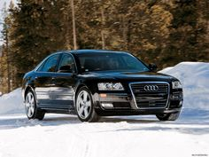 Jason Statham's Transporter series car. The Audi A8.