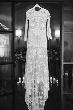 Cheyenne Romantique wedding dress by Claire Pettibone with custom long lace sleeves, Photo: Pinky Promise https://romantique.clairepettibone.com/collections/into-the-sunset-lace-wedding-dresses/products/cheyenne-in-ivory