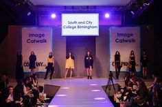 South and City College Birmingham - Graduate Catwalk A on the Image Catwalk at Clothes Show Live 2014