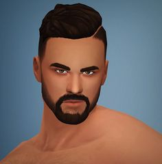 Unsurprisingly, I've got yet another hair for you guys with all the standard features; BGC + hat compatible + all LODs + all ea-base colors. Sims Four, Sims 4 Mm Cc, Maxis, Sims 4 Cas, My Sims, Sims 4 Hair Male, Male Hair, Guy Hair, The Sims 4 Cabelos