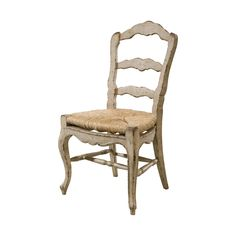 French Provincial Rustic Dining Chair
