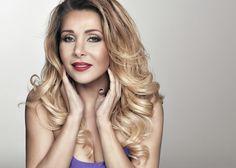 aktorka Aldona Orman make up project pkaluza