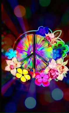 Peace will always a beauty and calm way to live your life. Paz Hippie, Hippie Peace, Happy Hippie, Hippie Love, Hippie Art, Hippie Chick, Hippie Style, Hippie Crafts, Hippie Things
