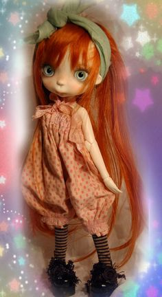 Miko collectible BJD resin doll by Chrishanthi by ppinkydollsart