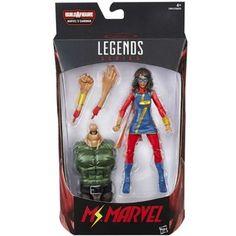 Marvel Legends: Amazing Spider-Man - Ms Marvel  Hasbro  Marvel Legends 6-inch, Marvel www.detoyboys.nl