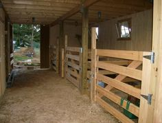 Love how simple these stalls are!!