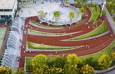 Zhangmiao Exercise Park / Archi-Union Architects