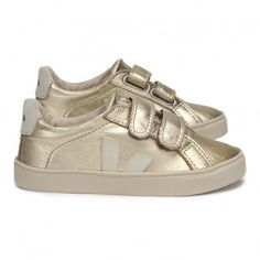 7d10892695 Veja-Gold Trainers for Kids Gold Trainers