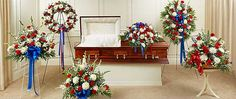 Military Funeral Flowers