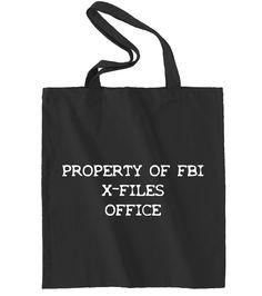 Property of FBI X-Files Office
