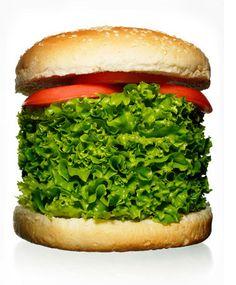 without. #salad #burger