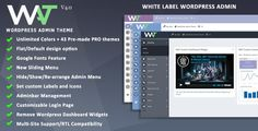 WordPress Admin Theme v4.0 – WordPress Plugin