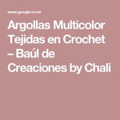 Argollas Multicolor Tejidas en Crochet – Baúl de Creaciones by Chali