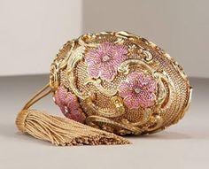 Judith Leiber Floral Egg