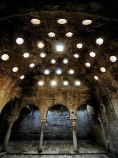 Hamman de Granada: sala de baño. S. XI