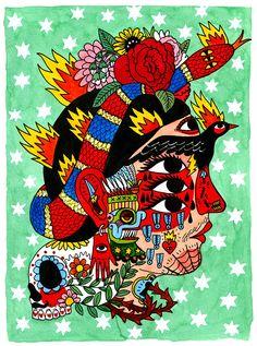 Juxtapoz Magazine - The Work of Ricardo Cavolo