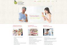 Desarrollo de la web de Cristina Fernández Miqueleiz, dietista-nutricionista - Calle Mayor Comunicación y Publicidad