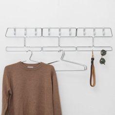 90 cm Coat Rack - Chrome - alt_image_one