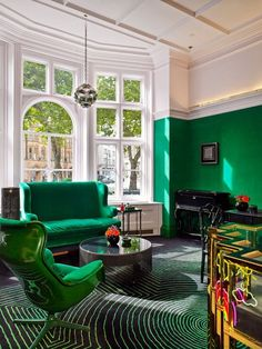 Top 15 salas verdes decoradas