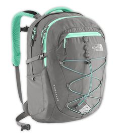5050d6c8e0 The North Face Borealis Daypack for Women (Zinc Grey/Surf Green) => New and  awesome outdoor gear awaits you, Read it now : Best hiking backpack