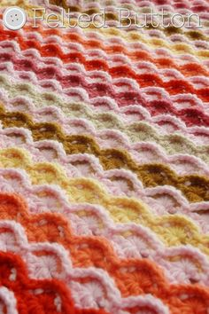 Ravelry: Confections Blanket by Susan Carlson
