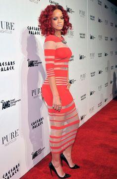 Рианна (Rihanna) на новогодней вечеринке в Лас-Вегасе