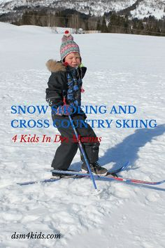 Snow Shoeing & Cross Country Skiing 4 Kids in Des Moines - dsm4kids.com