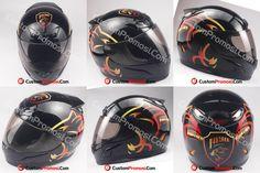 Helm Promosi minuman panther energy