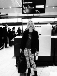 On my way to Sweden! See more on my blog Lionsandwolves.com #sweden #airport #travel #fashionblogger #blogger