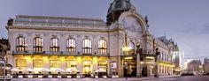The Municipal House, great restaurants and bar - art nouveau