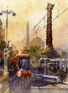 Make your work succeed with these painting tips from Iain Stewart | ArtistsNetwork.com #watercolor #painting