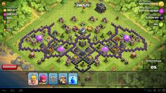 Best Clash of Clans Layout Photo!