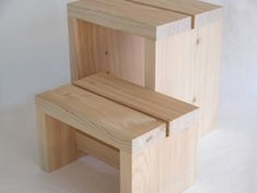 sauna stool Deco Furniture, Space Furniture, Wooden Furniture, Cool Furniture, Furniture Design, Sauna Design, Small Woodworking Projects, Wooden Stools, Restaurant Furniture