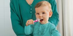 GP designpartners on Behance Baby Toothbrush, First Tooth, Help Teaching, Oral Hygiene, Teeth Cleaning, Trendy Colors, Baby Bottles, Brush Cleaner, Our Baby