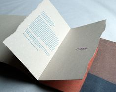 Collage Art & Letters: Brochure + Postcards 1998 by Paul Robson, via Behance