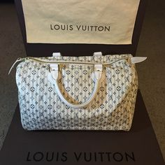 5d09eef52 Louis Vuitton Mini Lin Croisette Speedy 30 Authentic limited edition Louis  Vuitton bag. Comes with