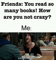 "25 Memes All Bookworms Will Relate To - Funny memes that ""GET IT"" and want you to too. Get the latest funniest memes and keep up what is going on in the meme-o-sphere. I Love Books, Good Books, Books To Read, My Books, Stupid Funny Memes, Funny Relatable Memes, Hilarious, Crazy Funny, Book Memes"