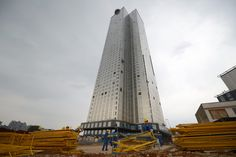 World's Fastest Building Construction Ever: 57 Storey, 19 Days #architecture #china #building #construction #fastest