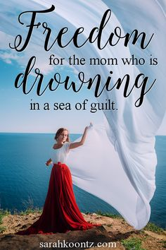 I am no longer plagued with self-doubt and condemnation because I am no longer believing the lie that I am not good enough.  I have been rescued from the sea of mommy guilt.  God has thrown me a lifeline, and I am desperately hoping that you grab hold of it as well.  When you seek God's truth with all of your heart, you will find it.  And His truth will set you free! Christian | Woman | Encouragement | Prayer | Bible | Hope | Lessons | Women Inspired | Healing | Faith