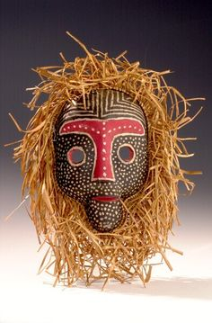 Wooden mask [...], Democratic Republic of Congo. Museon, CC BY