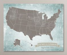 USA Magnetic Map Puzzle Stained Plywood Love This Would Be A - Us magnetic travel map