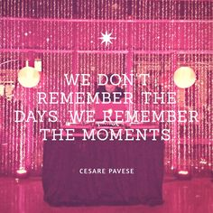We work to make great moments. - The SoChi Gallery #eventprofs