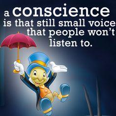 #JiminyCricket