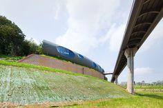 urban playground + yagatoo architects: heterojunctional barrier pavilion