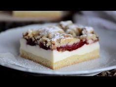 Kolač sa šljivama i puding kremom (topi se u ustima) Sweet Desserts, Sweet Recipes, Cake Recipes, Dessert Recipes, Croatian Recipes, Food Design, Cake Decorating, Cheesecake, Food Porn