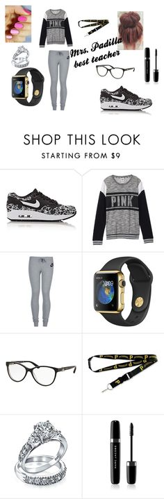 """""""mrs. padilla"""" by tyronek ❤ liked on Polyvore featuring NIKE, Victoria's Secret, Bulgari, aminco, Bling Jewelry and Marc Jacobs"""