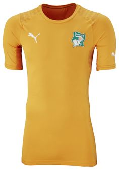 Ivory Coast Home Kit for World Cup 2014 #worldcup #brazil2014 #ivorycoast #soccer #football #CIV