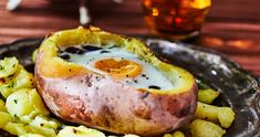 Avocado Egg, Healthy Recipes, Healthy Food, Camembert Cheese, Eggs, Cooking, Breakfast, Recipes, Kitchens